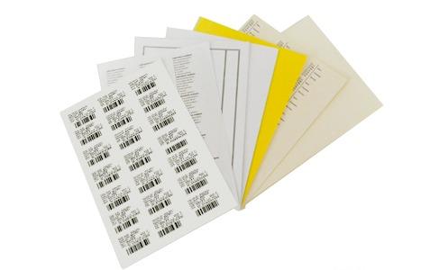 étiquettes médicales en planches A4