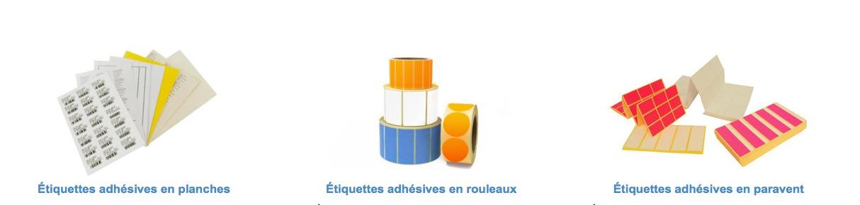 étiquettes services administratifs