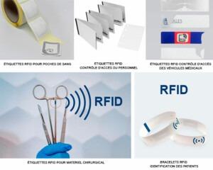 Étiquettes RFID Services de santé et Hôpitaux, Etik Ouets medical