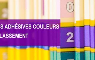 étiquettes couleur Etik Ouest Médical