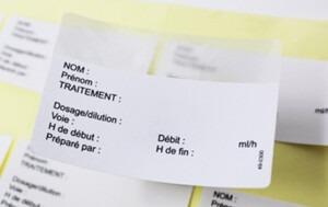 étiquettes post-it, étiquettes notes repositionnables etik ouest medical