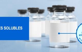 étiquettes adhésives solubles Etik Ouest Medical
